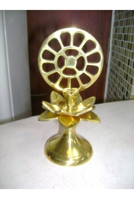 Brass Incense Holder with Mother's symbol