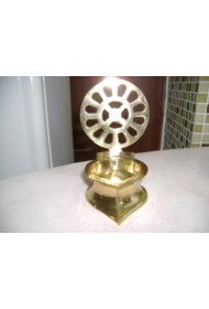 Brass Lamp with Mother's Symbol