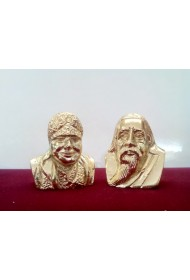 "The Mother & Sri Aurobindo Bust - 2""(set)"