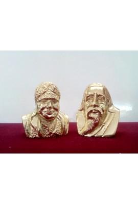 "The Mother & Sri Aurobindo Bust - 2""(set)"