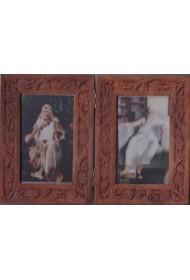 "Carving Frame folding 8""X 9"""