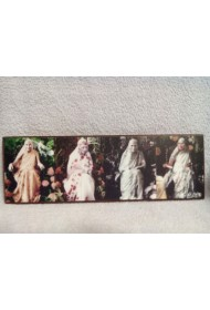 "Photo Wooden Frame - 4 in 1 (4""x12"")"