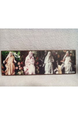 """Photo Wooden Frame - 4 in 1 (4""""x12"""")"""