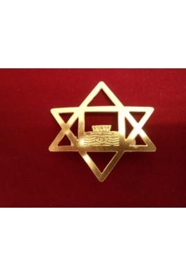 "Brass Badge - 2"""