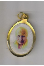 Brass Oval Photo Pendent - Big (set)