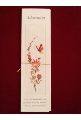 Adoration - Set of 8 bookmarks