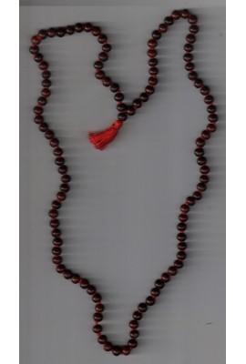Red Sandal Mala -No. 6