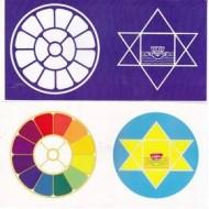 "Colour Sticker - 4""X 8"" (set of 3 stickers)"