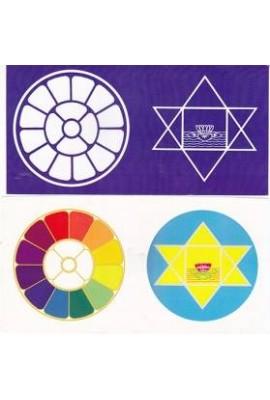 "Colour Sticker - 4""X 8"" (set of 4 stickers)"