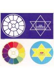 """Colour Sticker - 2""""X4"""" (set)"""