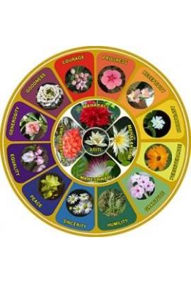 """Flower Symbol Sticker 3.5"""" (set)"""