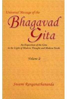 Universal Message of the Bhagavad Gita Vol. 2