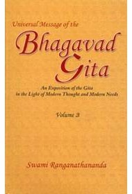 Universal Message of the Bhagavad Gita Vol. 3