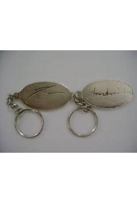 Key Ring Oval (set)
