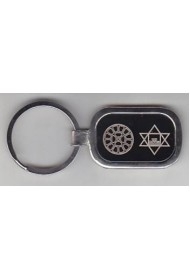 Oval Square Key Ring (passport)
