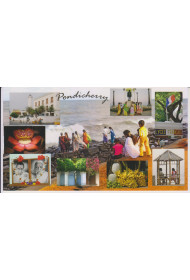 Post Card - 011 (Colourful Imprints of Puducherry)