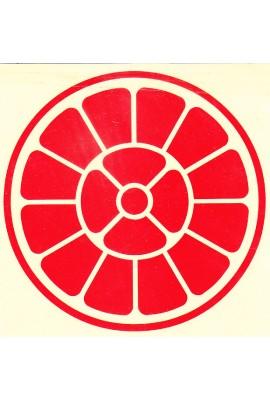 "Reflective Symbol Sticker - 10"""