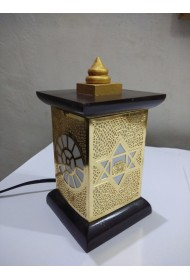 Brass Decorated Lamp Stand