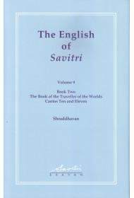 The English of Savitri: Vol 9 (HB)