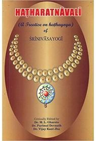 Hatharatnavali A Treatise on Hathayoga of Srinivasayogi