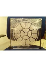 """Plastic Mother symbol Lamp - 12""""X12"""""""