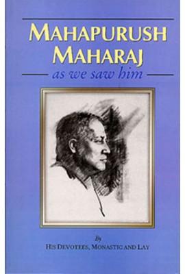 Mahapurush Maharaj as We Saw Him