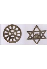 "brass symbols - 3"" (set)"