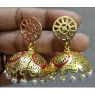 Brass Ear hanging (jhumki)
