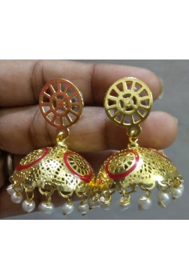 Brass Ear hanging (jhumki)