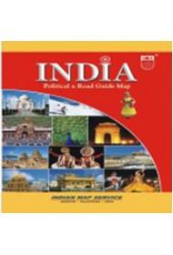 India Political - Tourist Guide Map