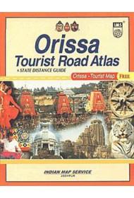 Odisha - Tourist Road Atlas